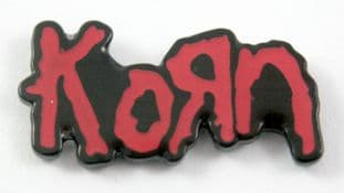 Korn - 'Logo' Enamel Pin Badge