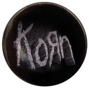 Korn - 'Logo' Large Button Badge