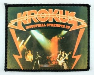 Krokus - 'Industrial Strength EP' Photo Patch