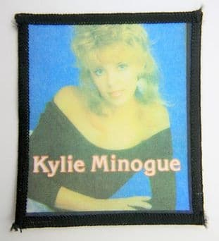 Kylie Minogue - 'Black Top' Printed Patch
