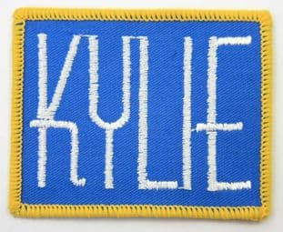 Kylie - 'Name' Embroidered Patch