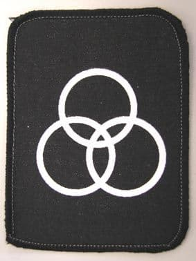 Led Zeppelin - 'John Bonham Symbol' Printed Patch