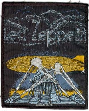 Led Zeppelin - 'Searchlights' Woven Patch
