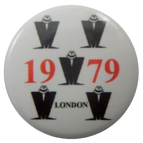 Madness - '1979 London' Button Badge