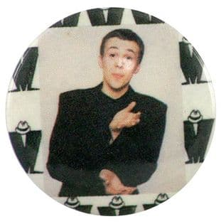 Madness - 'Bedders Black Suit' Button Badge