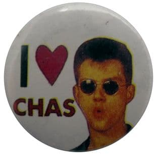 Madness - 'I Love Chas' Button Badge