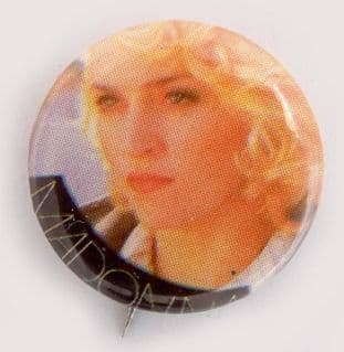 Madonna - 'Curly Hair' Small Button Badge