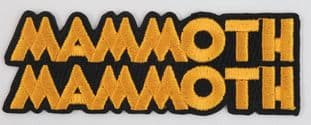 Mammoth Mammoth - 'Logo' Embroidered Patch