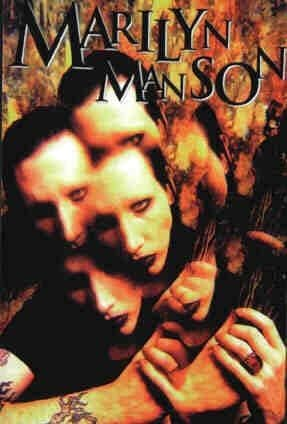 Marilyn Manson - 'Heads' Postcard