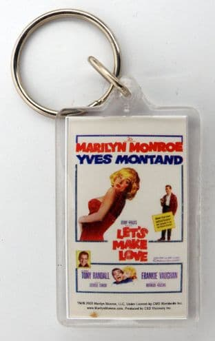 Marilyn Monroe - 'Let's Make Love' Keyring