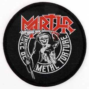 Martyr - 'Metal Torture' Woven Patch