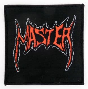 Master - 'Logo' Woven Patch