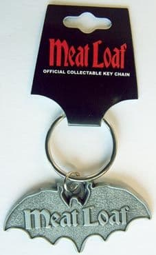 Meat Loaf - 'Bat' Metal Keyring