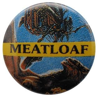Meat Loaf - 'Bat Out of Hell II' Button Badge
