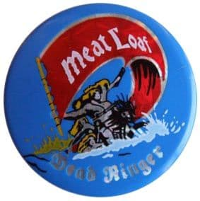 Meat Loaf - 'Dead Ringer' Prismatic Button Badge