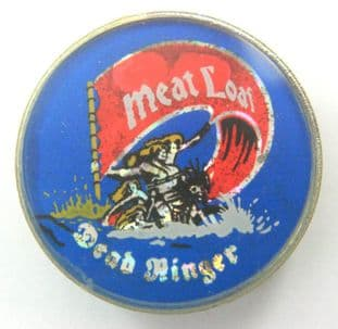 Meat Loaf - 'Dead Ringer' Prismatic Crystal Badge