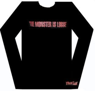 Meat Loaf - 'The Monster is Loose' Long Sleeved Shirt