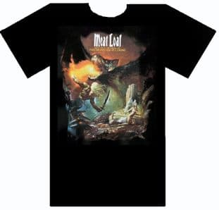 Meat Loaf - 'The Monster is Loose' T.Shirt