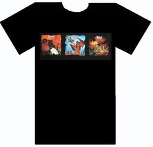 Meat Loaf - 'Three Bats' T.Shirt