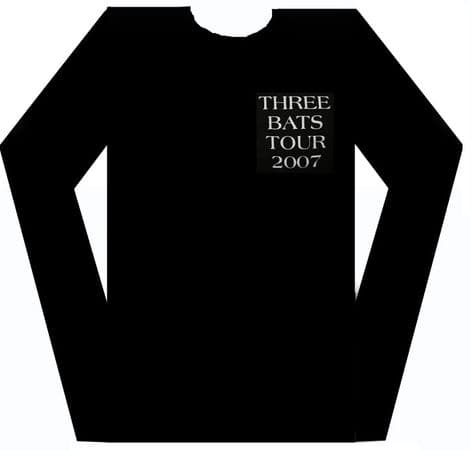 Meat Loaf - 'Three Bats Tour 2007' Long Sleeved Shirt