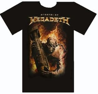 Megadeth - 'Arsenal of...' T.Shirt