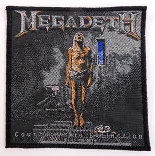 Megadeth - 'Countdown to Extinction' Woven Patch
