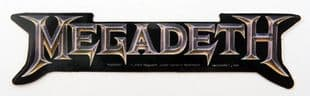 Megadeth - 'Logo' Sticker