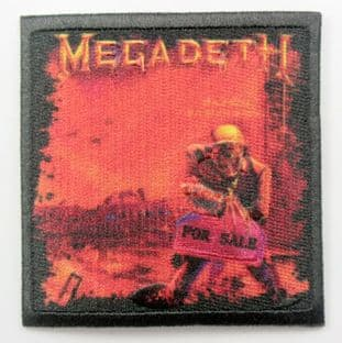 Megadeth - 'Peace Sells' Sew-on Patch