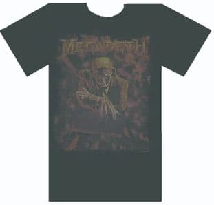 Megadeth - 'Peace Sells Vic' Unusual T.Shirt