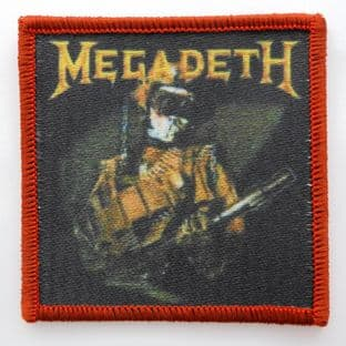 Megadeth - 'So Far, So Good' Woven Patch