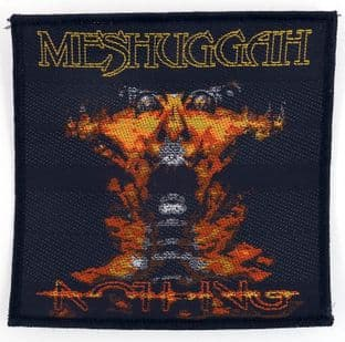 Meshuggah - 'Nothing' Woven Patch