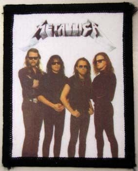 Metallica - 'Group' Vintage Printed Patch