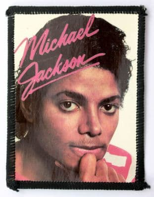 Michael Jackson - 'Chin on Hand' Photo Patch