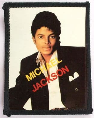 Michael Jackson - 'White Background' Photo Patch