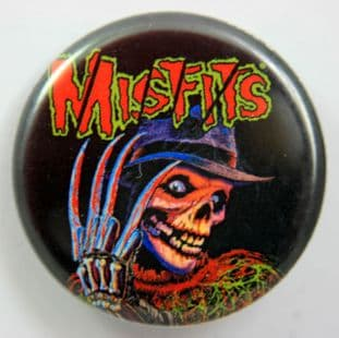 Misfits - 'Nightmare of Fiend Street' 32mm Badge