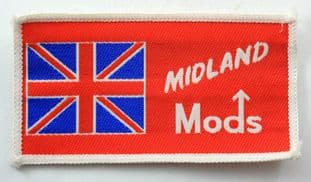 Mods - 'Midland' Woven Patch