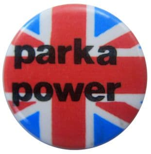 Mods - 'Parka Power' Button Badge