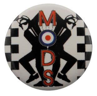 Mods - 'Rude Boys' Button Badge