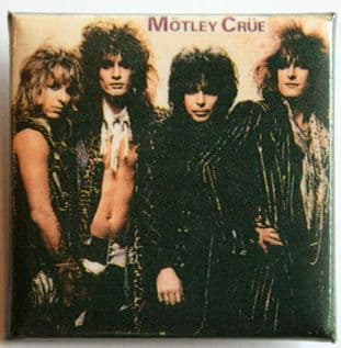 Motley Crue - 'Group 1' Square Badge