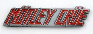 Motley Crue - 'Logo' Enamelled Metal Lapel Badge