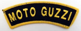 Moto Guzzi - Embroidered Shoulder Patch