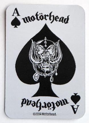 Motorhead - 'Ace of Spades Playing Card' Woven Patch