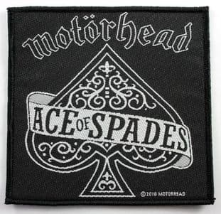 Motorhead - 'Ace of Spades' Woven Patch