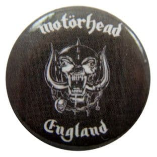 Motorhead - 'England' Button Badge