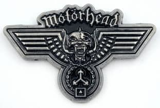 Motorhead - 'Hammered' Enamelled Metal Lapel Badge