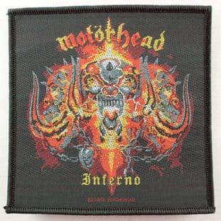 Motorhead - 'Inferno' Woven Patch