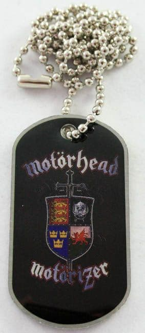 Motorhead - 'Motorizer' Dog Tag