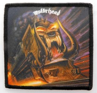 Motorhead - 'Orgasmatron' Sew-on Patch