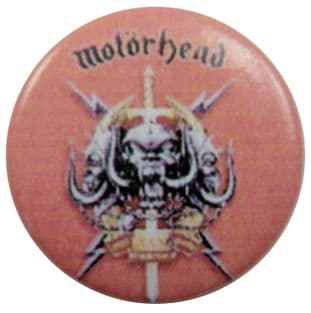 Motorhead - 'Stage Fright' Button Badge