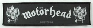 Motorhead - 'Warpig' Woven Strip Patch